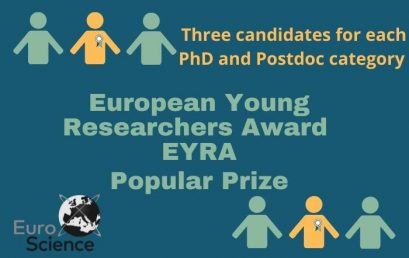 GET MSCA-Cofund fellow Valentina Sessini – finalist of EYRA award