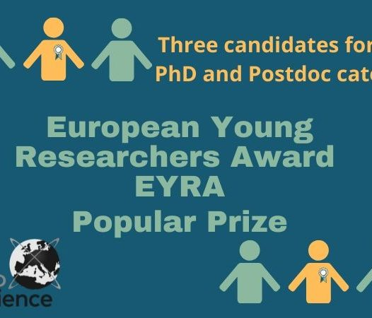 GET MSCA fellow Valentina Sessini, winner of EYRA award (Jury Prize and Popular Prize)!