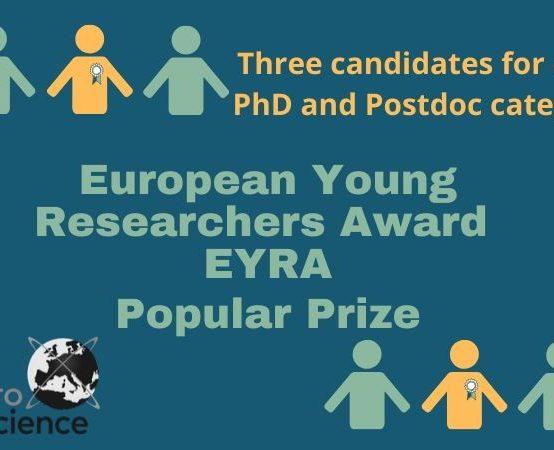 European Young Researchers Award (EYRA) 2019-2020